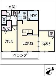 仮)D−room町田町[3階]の間取り
