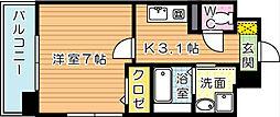 ユニゾンスクエア[3階]の間取り