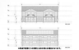 (仮)D-room北方H[102号室]の外観