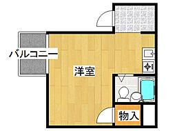 フロントビュー八阪[3階]の間取り