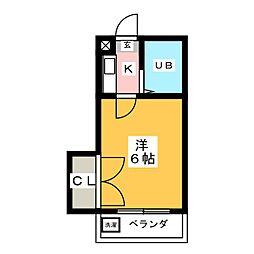 アストリー21[1階]の間取り