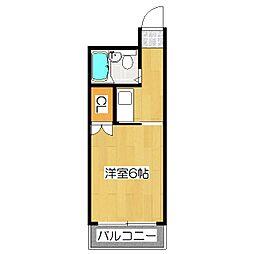 パサージュI[3階]の間取り