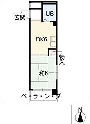 アーバンM[3階]の間取り
