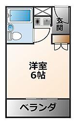 カルム甲子園[6階]の間取り