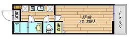 LaLuce[108号室]の間取り