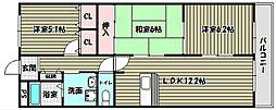 グレイスコート・アイ[2階]の間取り