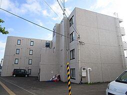 北海道札幌市北区篠路二条7丁目の賃貸マンションの外観