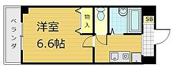 コンフォート桃山[6階]の間取り
