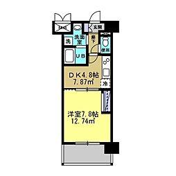 MANAKA BLD[603号室]の間取り