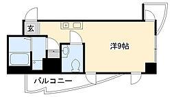 インターフェルティーR2甲子園[704号室]の間取り