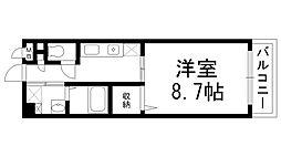 マンション・グラース[0201号室]の間取り