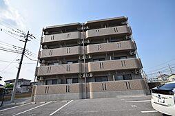 フォレスト雀宮B棟[4階]の外観
