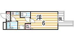 笠神マンション[302号室]の間取り