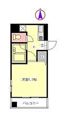 クアトロエスぺランサ[5階]の間取り