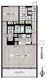 パークサンライトマンション[3階]の間取り
