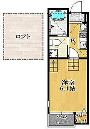 仮)駿河台新築AP2[205号室]の間取り