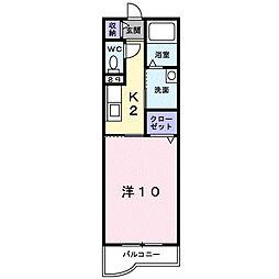 エグゼリオ[1階]の間取り