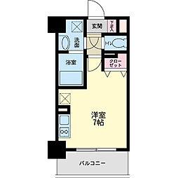 パシフィックレジデンス神戸八幡通[1104号室]の間取り