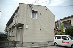 大阪府茨木市東太田3丁目の賃貸アパートの外観