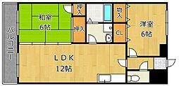 第10岡部ビル[2階]の間取り