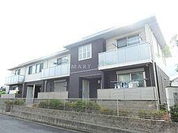 滋賀県大津市下阪本2丁目の賃貸アパートの外観
