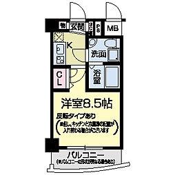 セレニテ甲子園I[0610号室]の間取り
