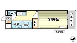 AXIO[4階]の間取り