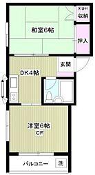 034CHIBA[4階]の間取り