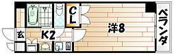 19-Cube[3階]の間取り