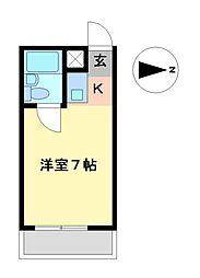 ドール本願寺[2階]の間取り