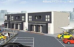 福岡県北九州市若松区東二島3丁目の賃貸アパートの外観
