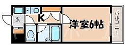 広島県広島市安芸区船越南1丁目の賃貸マンションの間取り