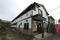埼玉県川口市東本郷の賃貸アパートの外観