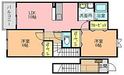 クレメント サニーI[2階]の間取り