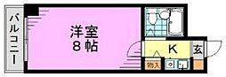 東京都杉並区松ノ木3丁目の賃貸マンションの間取り
