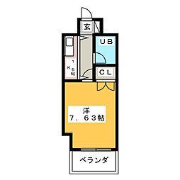 プログレス大橋[7階]の間取り