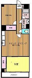 シャンポール南中野 中野富士見駅7分 住環境良好 分譲賃貸マ[4階]の間取り