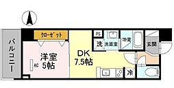 仮)D-room芥川町2丁目プロジェクト[0101号室]の間取り