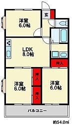 第2糸山ビル[3階]の間取り