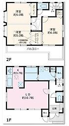 [一戸建] 神奈川県相模原市南区相南2丁目 の賃貸【/】の間取り
