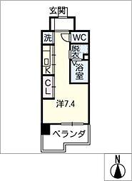 Atrio鶴舞[10階]の間取り
