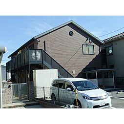 愛知県安城市三河安城町2丁目の賃貸アパートの外観