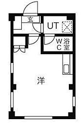 サトーファミリアコーポ[2階]の間取り