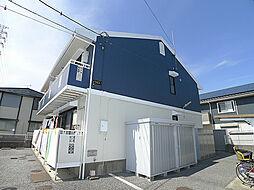 埼玉県吉川市道庭1丁目の賃貸アパートの外観