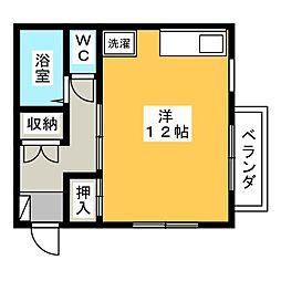 塚本ハイツ[2階]の間取り