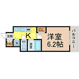 プレサンス鶴舞公園WEST[9階]の間取り