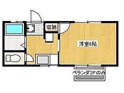 ライブFII[2階]の間取り