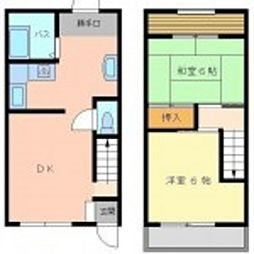 第1アカマツマンション[5号室]の間取り