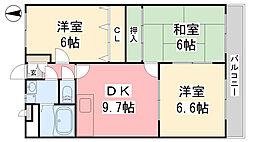 松山市駅駅 6.3万円