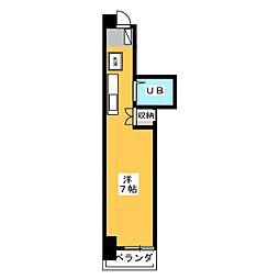 エミール1st[4階]の間取り